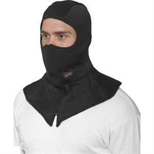 CHOKO ZIPPERED BALACLAVA POLY / COTTON