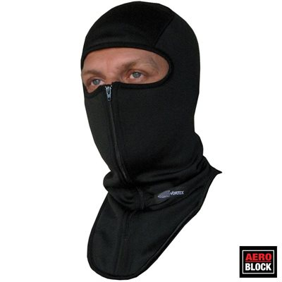 VORTEX AEROBLOCK WINDPROOF BALACLAVA WITH ZIPPER