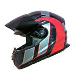 RIOT CARBON TECHNO GRAPHIC HELMET